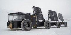 <b>荷兰夫妇用垃圾3D打印太阳能电动车并开到了南极</b>