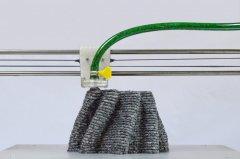 设计师推出使用废纸做材料的3D打印机PaperPulpPrinter
