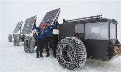 <b>荷兰夫妇将太阳能3D打印塑料车辆驶入南极</b>