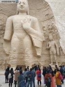 3D打印的云冈石窟第18窟在北京成功复制!