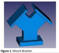 <b>通过创成式设计得到重量轻20%的支架</b>