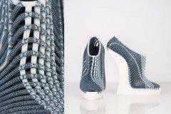 设计师Ganit Goldstein推出3D打印编织鞋'Between The Layers'