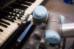 科学家开发了可以在钢琴上演奏的3D打印机器人手