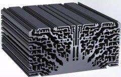 看3D打印如何实现不均匀材料分布的散热结构?
