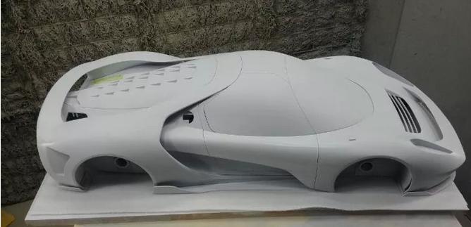 3D打印超级跑车展示模型,以触觉可视化营销新模式推动产品销售