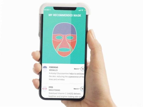 美国顶级护肤品牌Neutrogena使用人工智能推出3D打印面膜
