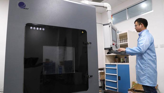 """上海产研院推出同轴送丝激光金属3D打印机 有望成为工业制造""""神器"""""""