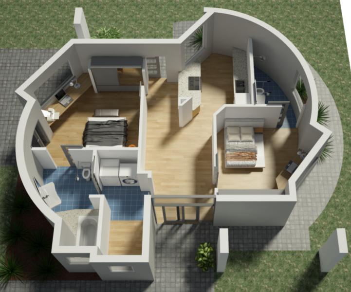 可持续的3D打印房屋