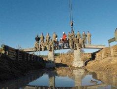 美国陆军计划制造能支撑坦克的3D打印桥梁