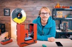 <b>Thomas Sanladerer让3D打印机变成移动工作站</b>
