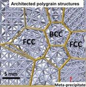 发表在Nature上的3D打印坚固轻质的材料