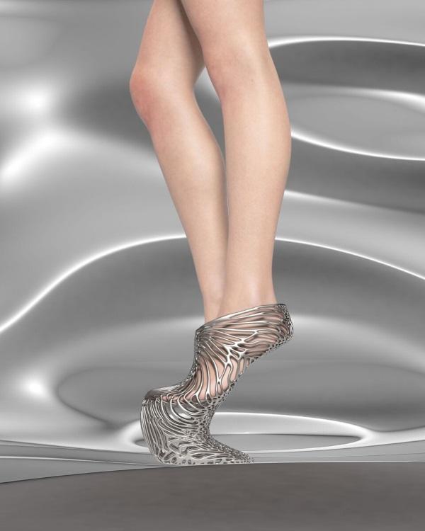 Ica&Kostika推出豪华3D打印鞋子Exobiology系列
