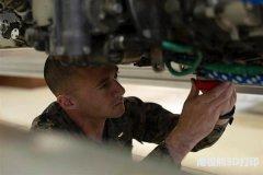 Iwakuni Marines 3D打印引擎套件,用于修理战斗机