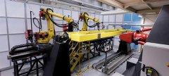 大规模LASIMM混合制造机器可3D打印零件用于建筑