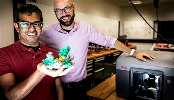 卧龙岗大学使用3D打印视觉辅助来研究病毒抗生素耐药性