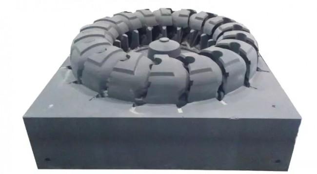 3D打印将不可能变为现实,看3.2吨重的叶轮如何轻松实现铸造