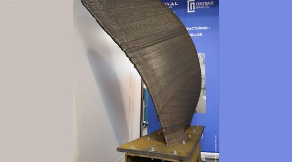 Naval Group和Centrale Nantes 3D打印世界上第一个空心螺旋桨叶片