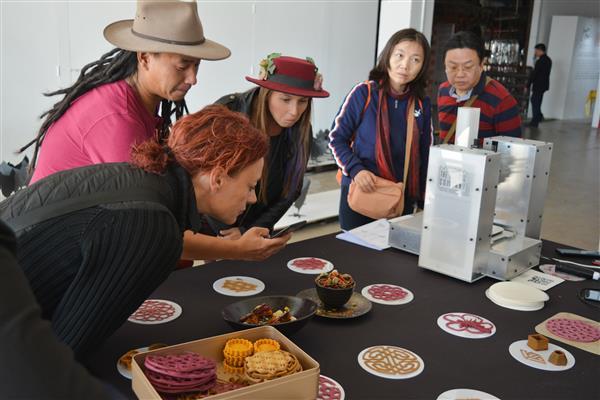 荷兰年轻企业家通过3D打印食品减少食物浪费
