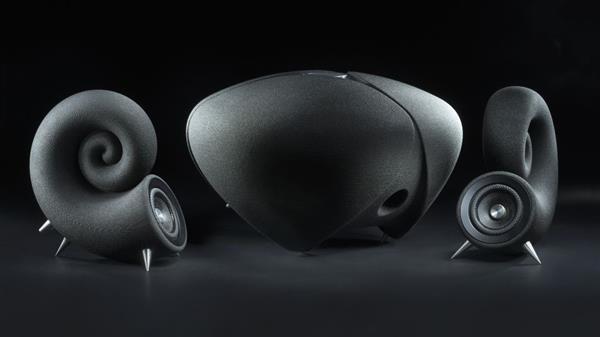 捷克制造商推出由沙子制成的商用3D打印扬声器