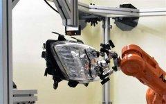 3D打印机器人在汽车前照灯组件上成功3D打印替换接线片