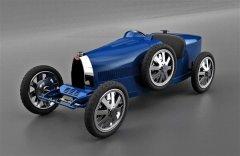 布加迪推出采用3D打印35型车身的Baby II微型车