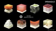 <b>日本公司根据顾客的唾液或尿液提供营养3D打印寿司</b>