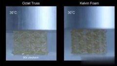 4D打印智能材料能随温度改变性质形状