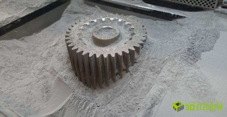 金属粉末专家Heraeus展出轻量大件3D打印非晶态金属部件