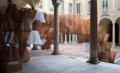 COS和Arthur Mamou-Mani在米兰展出3D打印生物塑料Conifera展馆