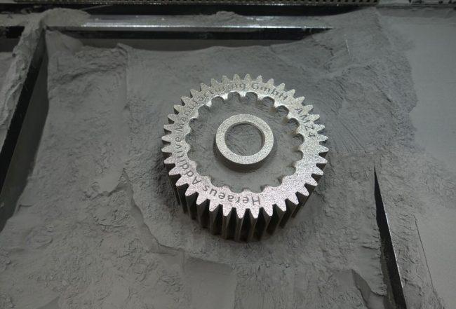 3D打印非晶态金属齿轮及粉末材料