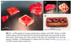 3D打印硫系玻璃,加工廉价光学部件