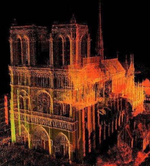 3D打印修复巴黎圣母院