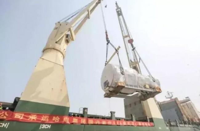 全球首台3D打印微孔预混9HA燃气轮机抵达中国