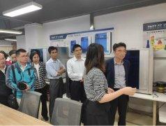 中国品牌500强广船国际董事长韩广德参观立体易