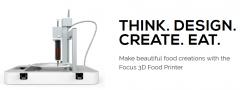 可以实现烹饪个性化的食品3D打印机 byFlow
