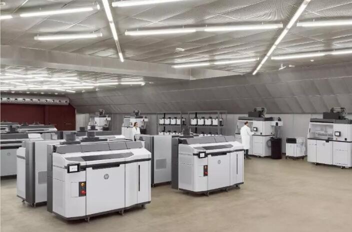 生产环境中的HP Jet Fusion 5200