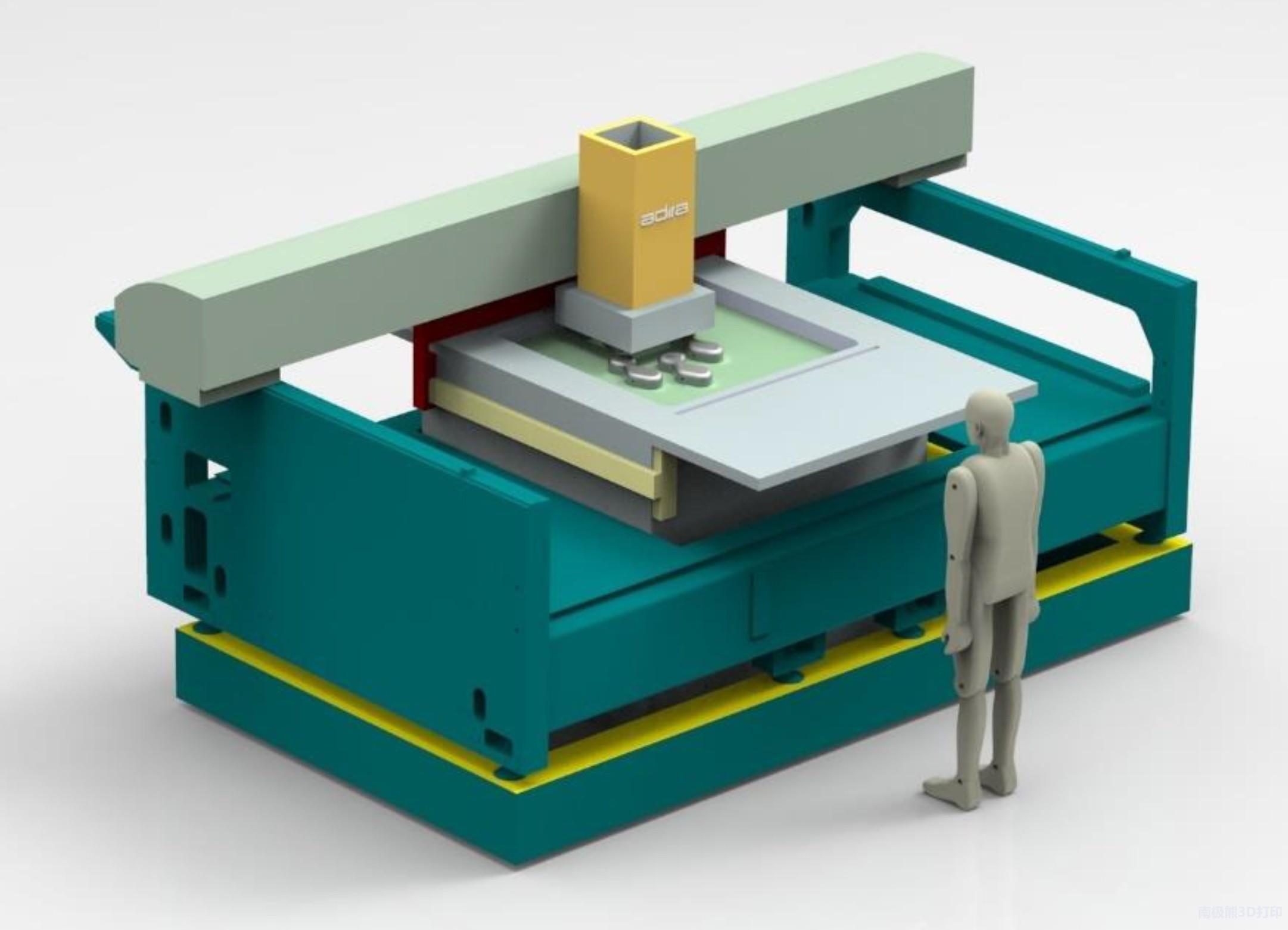 葡头牙公司Adira研发出大型SLM-XL 3D打印机