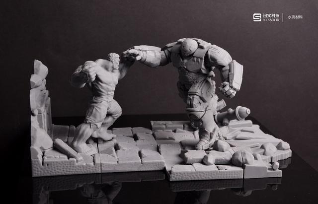 3D打印复仇者联盟