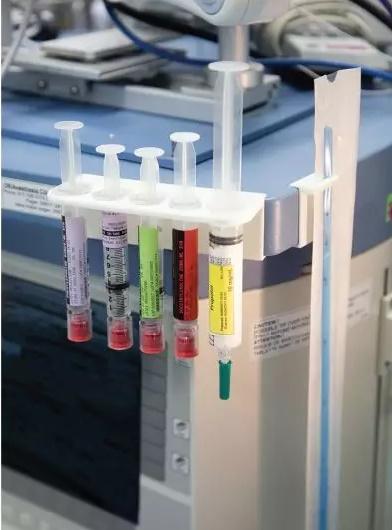 3D打印注射器支架减少了细菌污染的机会