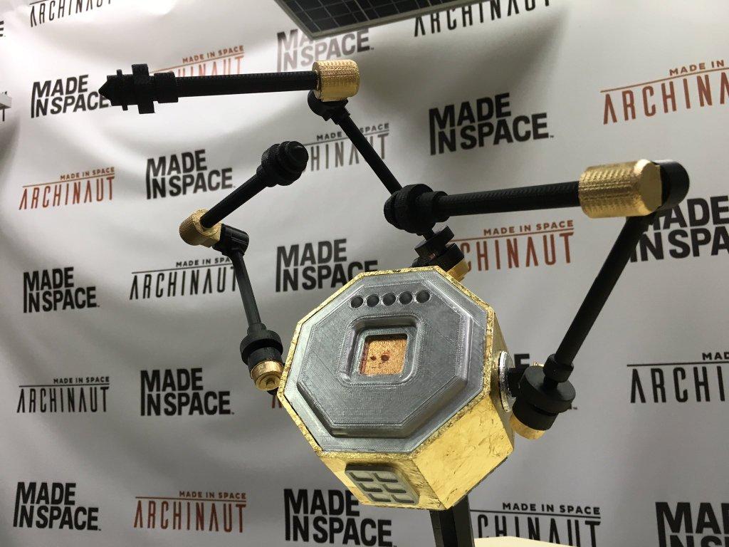 制造Archinaut的Made In Space卫星的模型