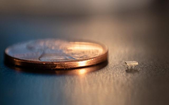 佐治亚理工学院研发出几乎看不见的微型3D打印机器人