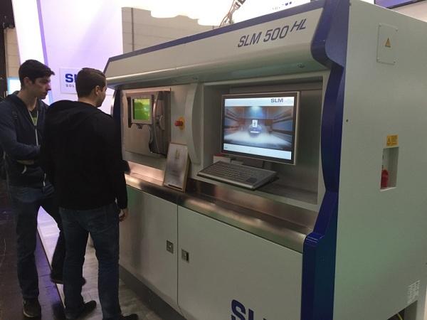 工程SLM解决方案:四重激光3D打印机SLM 500 HL