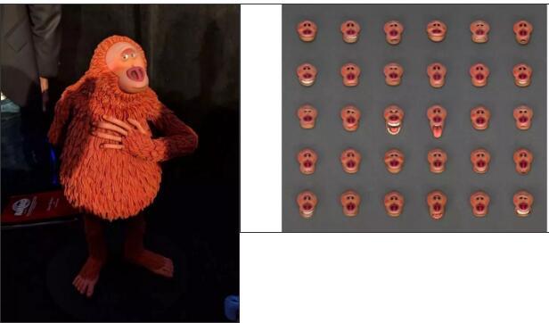 3D打印定格动画面部表情