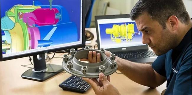 3D打印的APU辅助动力装置零件