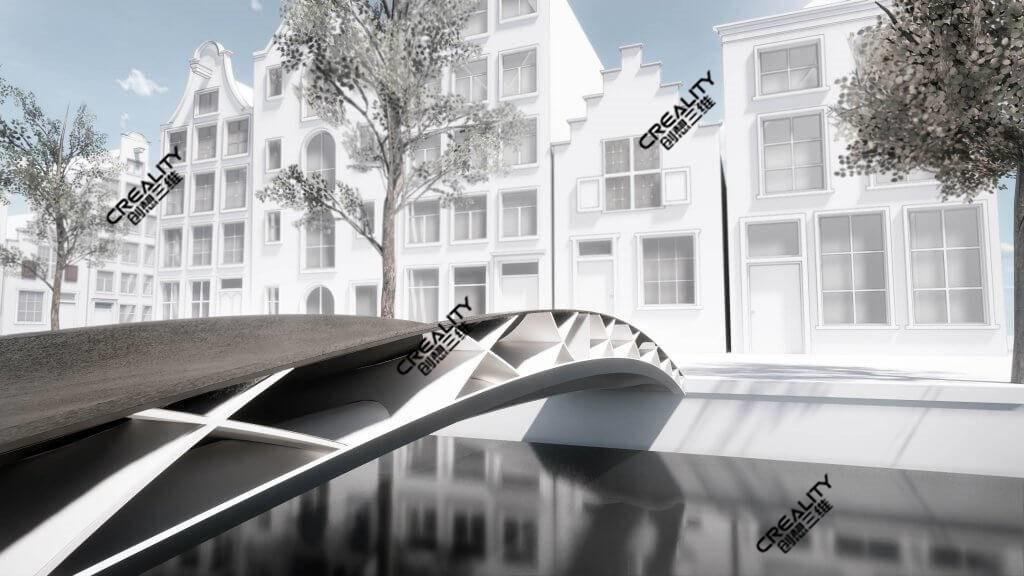 3D打印机设计模拟桥