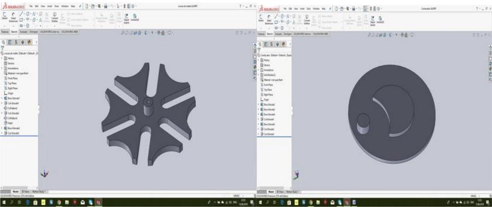 马耳他十字架的CAD模型