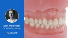 Formlabs教你如何制作美观的3D打印假牙