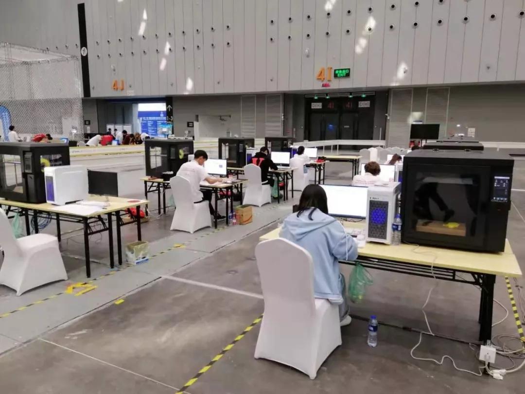 3D打印机工业设计赛参赛选手3D打印建模