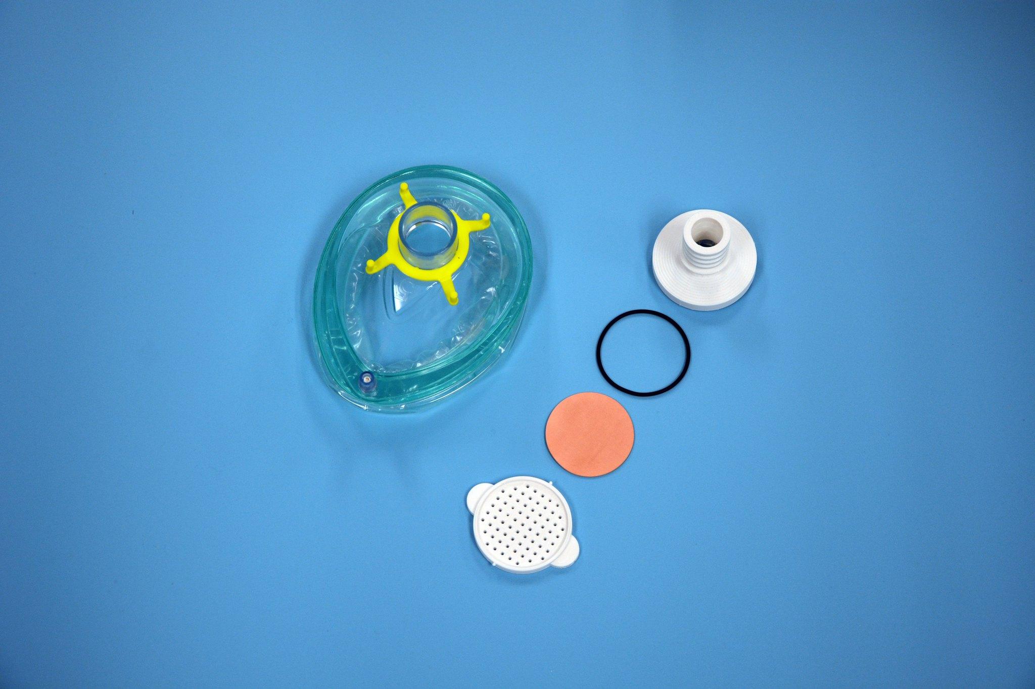 具有3D打印金属过滤器的ExOne和Pitt 3D打印有望重复使用的呼吸器