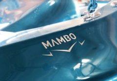 玻璃纤维3D打印船MAMBO完成,正在热那亚船展上展出
